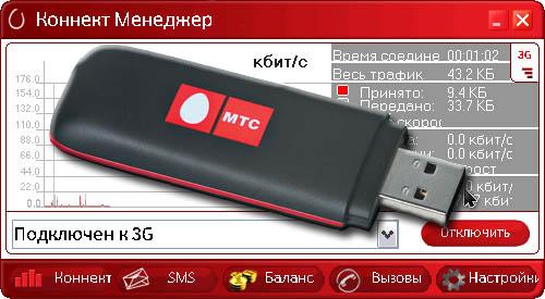 USB Коннект менеджер