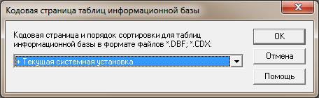 Кодовая страница