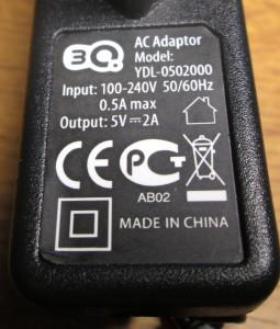 3Q Зарядное устройство
